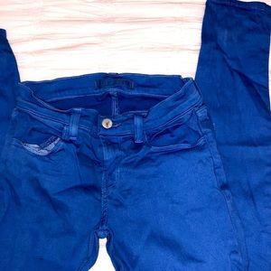 ♡ Electric Blue J Brand Skinnies ♡